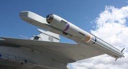The Denel Dynamics A-Darter, a 5th-generation within visual range air-to-air missile. Photo credit: Denel Dynamics