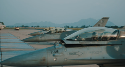F-16 Block-15ADFs [Air Defence Fighters] in service with the Pakistan Air Force. These F-16s were acquired from Jordan in 2014.