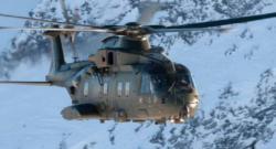 Leonardo-Finmeccanica AW101 (Agusta Westland) utility helicopter. Photo credit - Leonardo Company