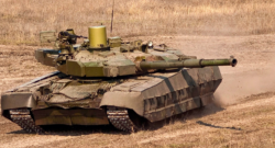 KMDB T-84 Oplot M main battle tank (MBT).