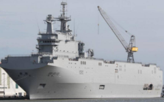 Egypt takes delivery of second Mistral helicopter carrier
