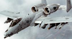 Fairchild Republic A-10 Thunderbolt II (aka Warthog). Photo credit: Wikipedia Commons