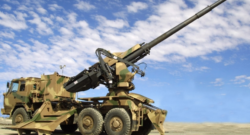 A T5-52 howitzer. Photo credit: Denel Dynamics