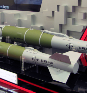 Roketsan Teber. A laser-guided bomb kit with added GPS/INS support.