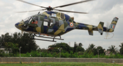 The first Light Utility Helicopter prototype. Photo credit: Hindustan Aeronautics Limited