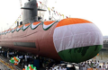 The Indian Navy's INS Kalvari just prior to entering its sea trials. Photo credit: Indian Navy