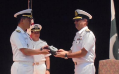 The Pakistan Navy assumes command of anti-piracy coalition CTF-151