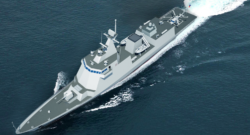 Illustration of the forthcoming Philippine Navy frigate. Photo credit: Hyundai Heavy Industries