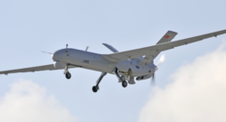 Turkish Aerospace Industries (TAI) Anka medium-altitude long-endurance unmanned aerial vehicle. Photo credit: TAI