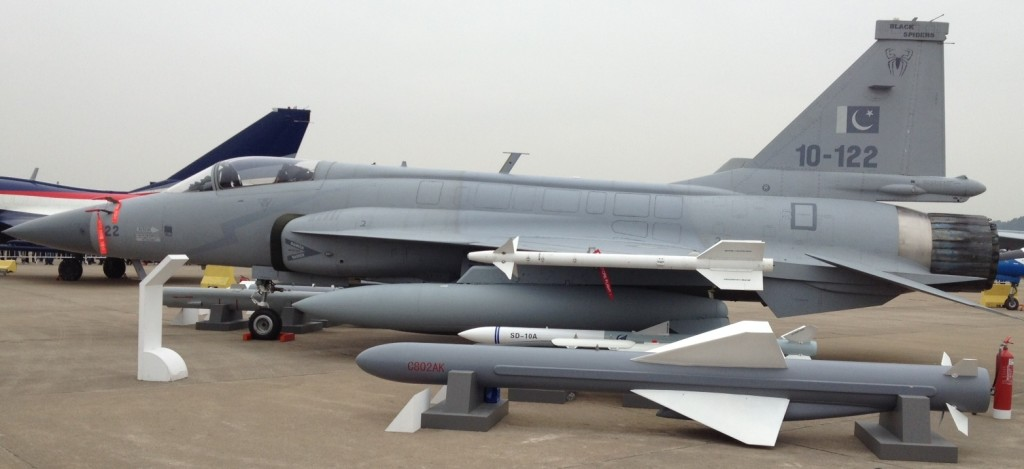 JF-17 with C-802 AShM