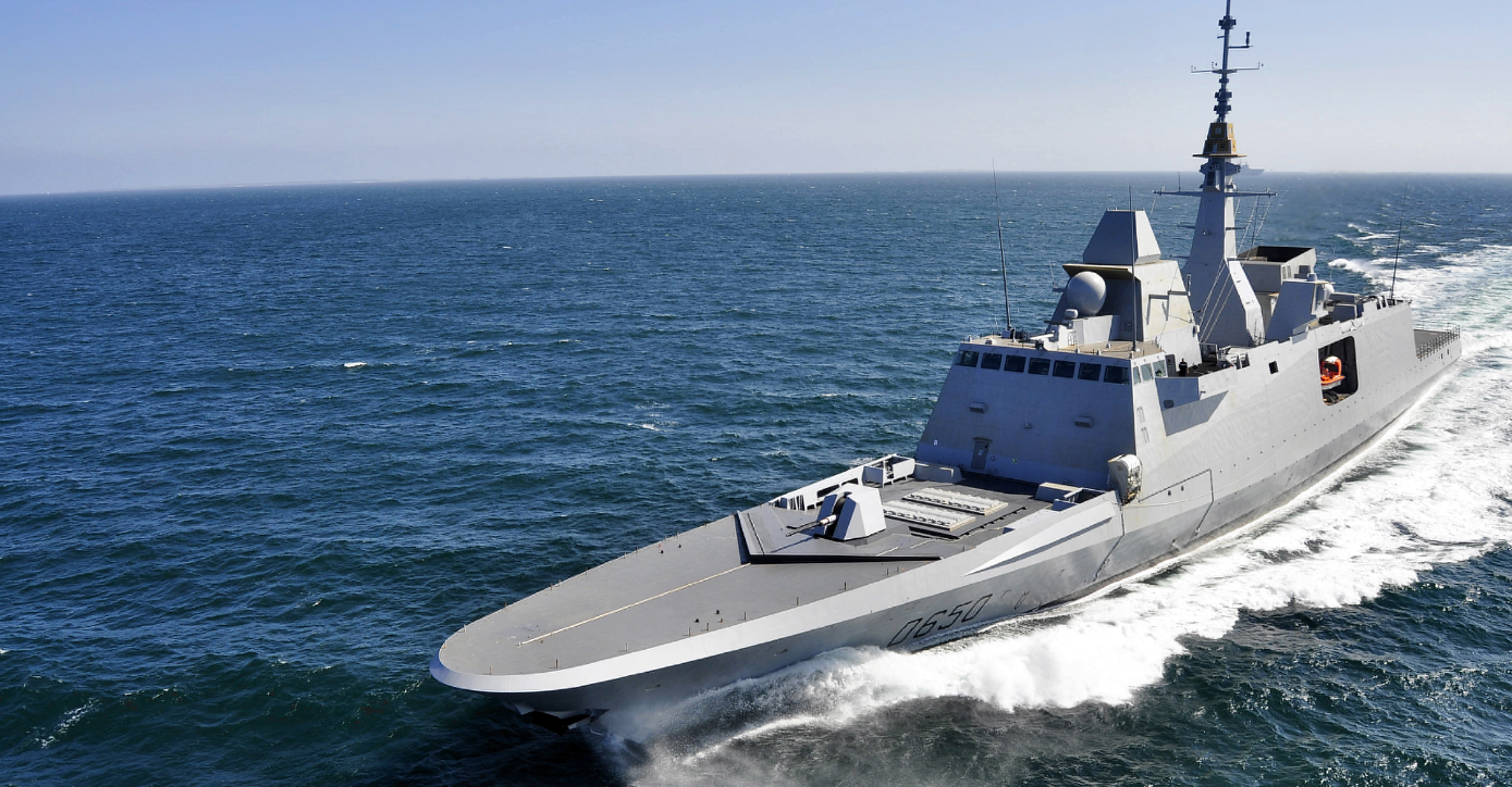 The FREMM multi-mission frigate designed and built by the French shipbuilding company DCNS. Photo credit: DCNS