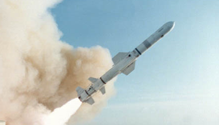 Boeing (formerly McDonnell Douglas) Harpoon anti-ship missile. Photo credit: Naval-Technology.com