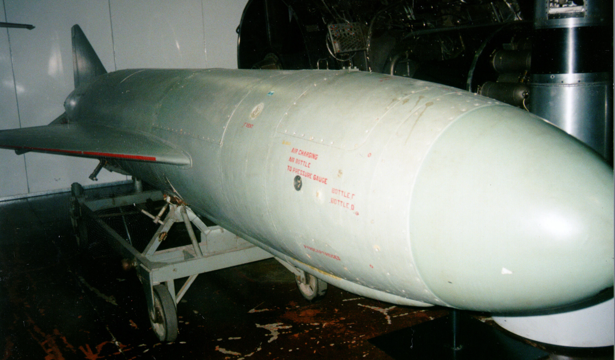 SS-N-2 Styx anti-ship missile. Photo credit: Smithsonian's National Air and Space Museum