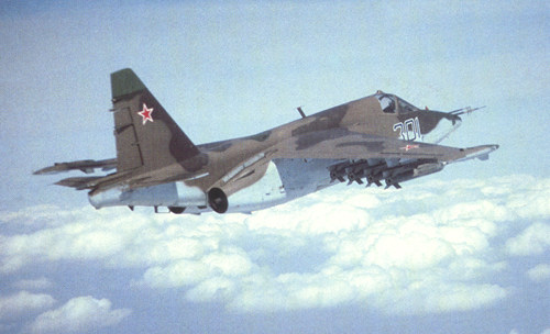 Su-25 Frogoot. Photo credit: AirForce Technology