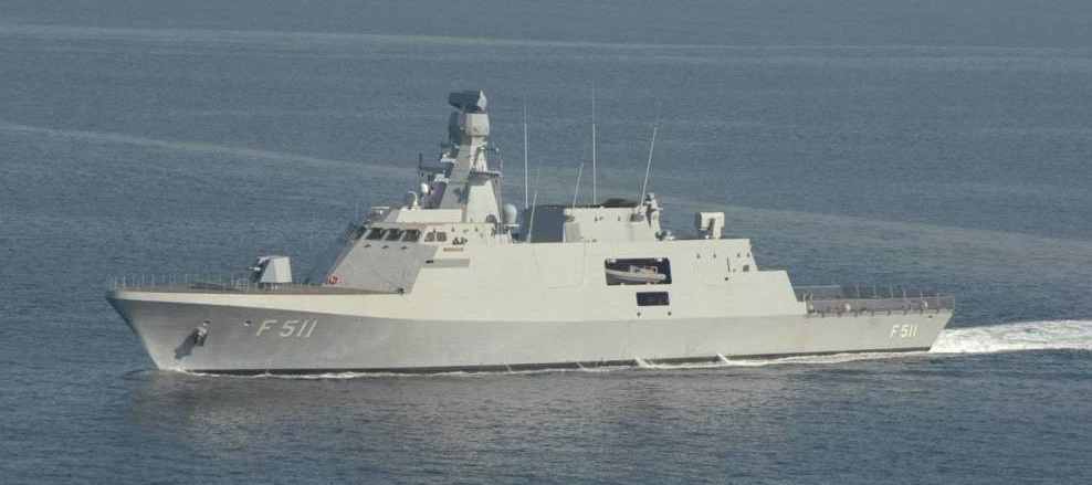 The Heybeliada, the first operational MILGEM corvette (currently in service with the Turkish Navy). Pakistan intended to buy four of these ships alongside the a transfer-of-technology agreement that would allow Pakistan to locally produce a number of them.