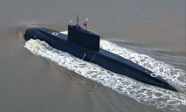 "The Type-039/041 ""Yuan"" class conventional submarine, likely the basis for the export-centric S20."