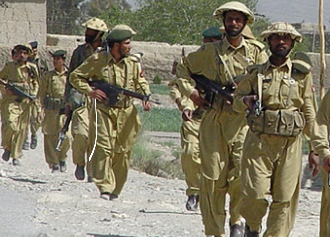 The Frontier Corps' during one of the military's earlier (2002-2004) deployments to FATA.