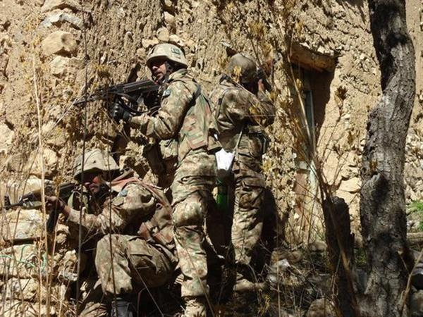 Pakistan Army regular infantry during Zarb-e-Azb (2014-present)