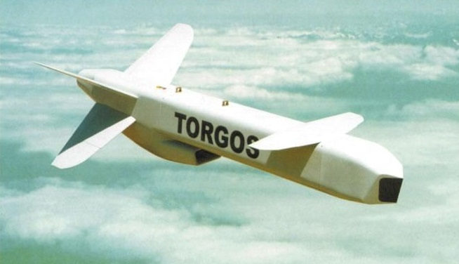 Illustration of the Denel Torgos air-launched cruise missile.