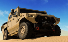 NIMR Automotive N35 and AJBAN SOV displayed at UAE National Day parade