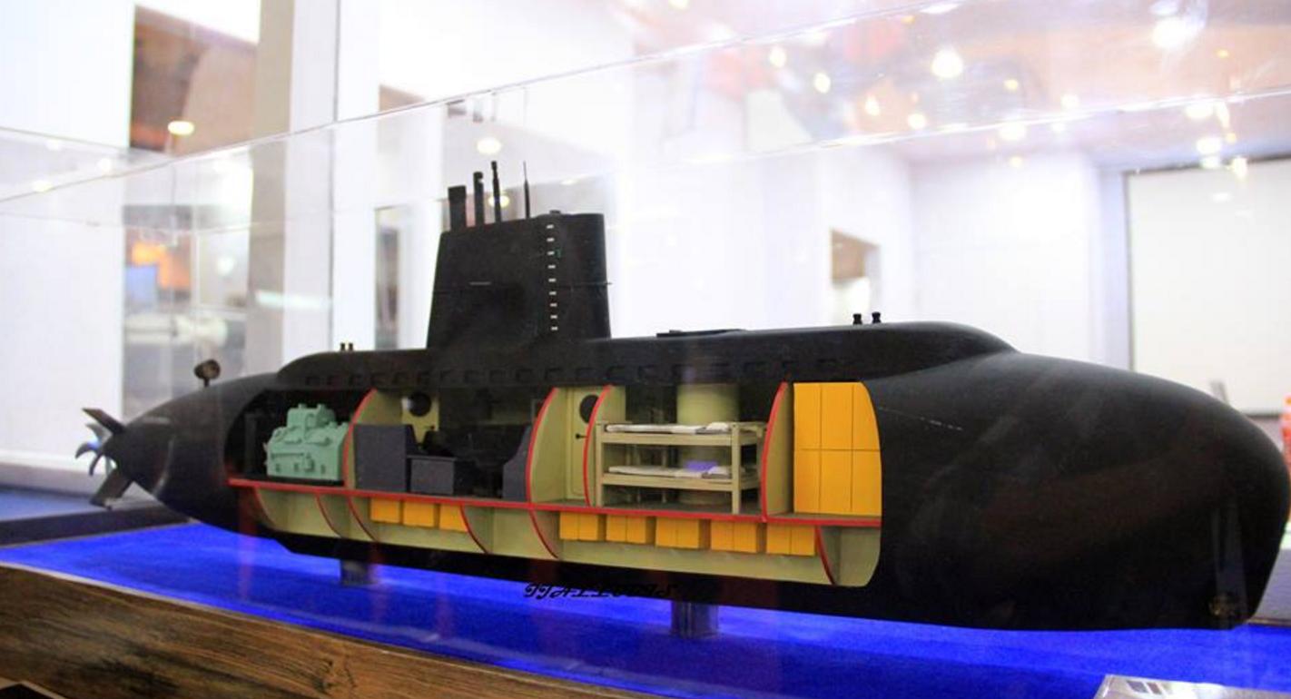Indonesia's PT Palindo Marine showcases mini-submarine design