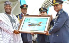 Nigeria receives four MFI-395 Super Mushshak trainers