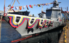 DSME launches first Royal Thai Navy frigate