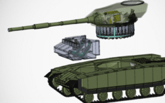Ukrainian firm to develop next-gen turret for legacy tanks