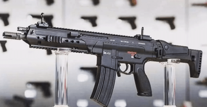 airsoft helicopters with Heckler Koch Unveils New Modular Rifle Hk433 on Gamers Experience also M42f Mac 10 Airsoft Gun furthermore Top 5 Spring Airsoft Guns in addition Kids Woodland Camo Ghillie Suit in addition Man With No Name 1 6 Scale Model Kit P 5040.