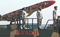 Pakistan officially unveils extended range Ra'ad 2 air-launched cruise missile