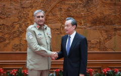 Chinese Foreign Office met with the Pakistan Army