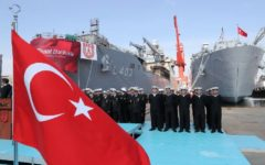 Turkish Navy takes delivery of first LST (TCG Bayraktar)