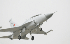 Dual-seat JF-17B prototype has successful test flight
