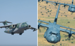 Embraer and Lockheed Martin competing to win over legacy C-130 users