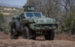 Kazakhstan aims to export armoured vehicles to Azerbaijan