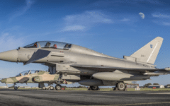 BAE Systems rolls out Oman's first Eurofighter Typhoon and Hawk aircraft