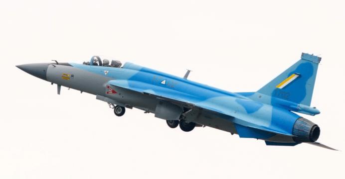 اول مقاتله مخصصه للتصدير الى ميانمار نوع FC-1/JF-17 تمت مشاهدتها في الصين  MyAF-JF-17-FYJS-02-692x360