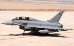 Oman takes delivery of two Eurofighter Typhoons