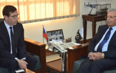Pakistan and the Czech Republic to explore for growth in defence ties