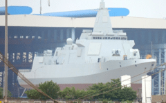 China launches 10,000-ton Type 055 destroyer for PLAN