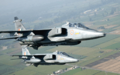 HAL test flies Jaguar DARIN III with EL/M-2052 AESA radar