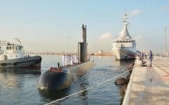 Egypt receives Gowind 2500 corvette and Type 209 submarine
