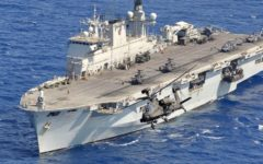 Turkey reportedly interested in helicopter carrier HMS Ocean