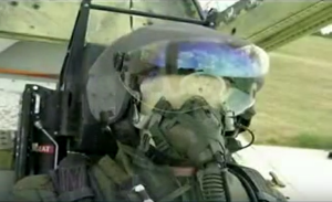 "A HMD/S system showcased on the PAF documentary ""In Pursuit of Self Reliance."" The system shown here has some close similarities to the South African Denel Archer."