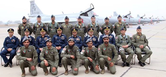 The JF-17 was formally inducted with CCS on 26 January 2015.