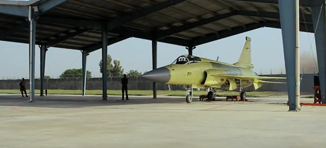A JF-17 Block-2 unit, fresh off of the production line.