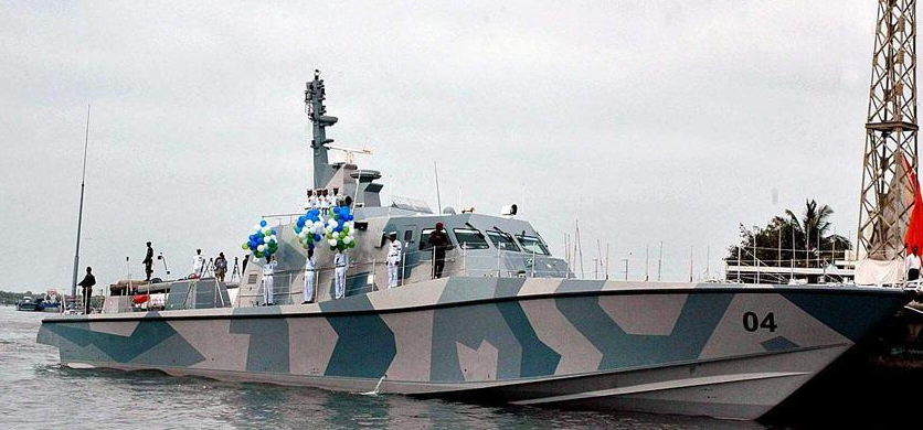 PNS Karrar, one of two MRTP-33 delivered to the Pakistan Navy