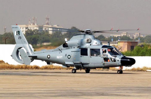 A Pakistan Navy Z-9EC. The Navy ordered six such helicopters from China. It is possible that additional units could be acquired in the future.