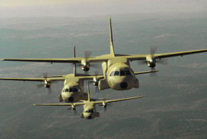 Moroccan Air Force CN-235s. Photo credit: Airbus