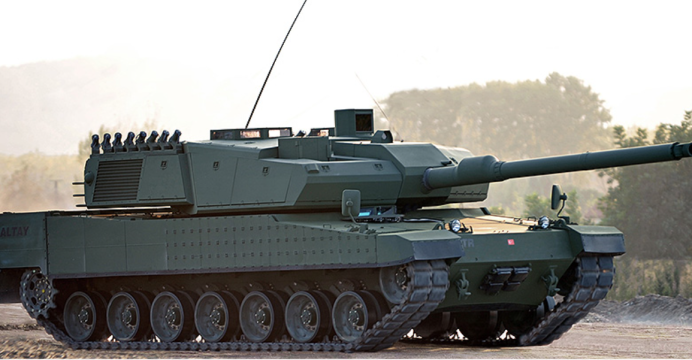 Altay MBT of Italy